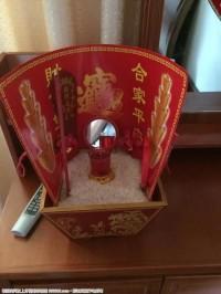 福州风俗:办婚礼要有的米斗。。。