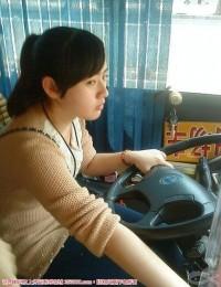福州130路公交车美女司机,素颜美女,值得一看!